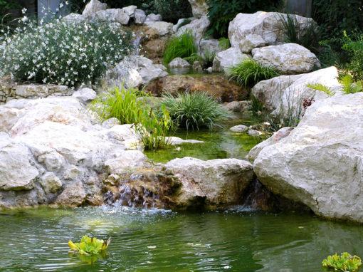Bassin cascade